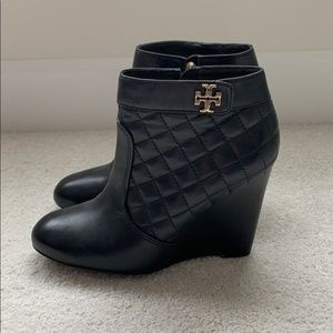 Tory Burch wedge boots